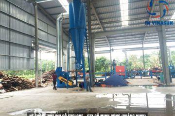 Hệ thống hút bụi gỗ – Công ty gỗ Minh Dũng