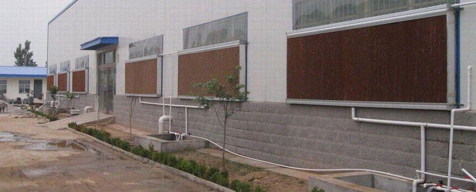 Hệ thống làm mát nhà xưởng bằng tấm Cooling Pad