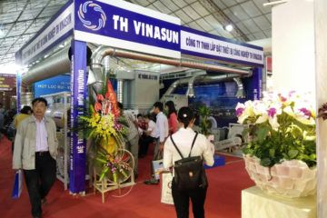 Thư cảm ơn khách hàng TH Vinasun – VIETBUILD HA NOI 2016