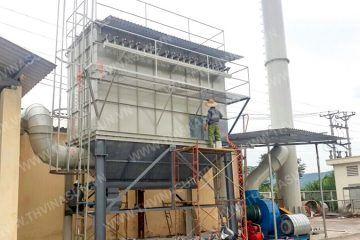 Hệ thống hút bụi và xử lý khói nhôm – Alumium Huyndai
