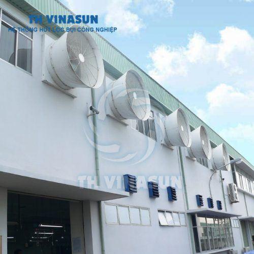 Hệ thống thông gió nhà xưởng - hệ thống làm mát