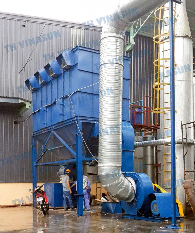 Hệ thống lọc hút bụi công suất 55kW